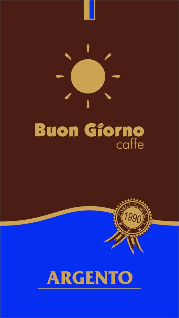 ARGENTO - blend z przewagą Arabiki. Idealna na poranne pobudzenie. Starannie wyselekcjonowane ziarna oddają smak prawdziwego włoskiego espresso. Kawa ta świetnie komponuje się z mlekiem. Słodycz zapewniają tu ziarna pochodzące z Brazylii i Gwatemali. Indonezyjska Robusta nadaje przyjemnego owocowo-kwaskowatego smaku i syropowej konsystencji.